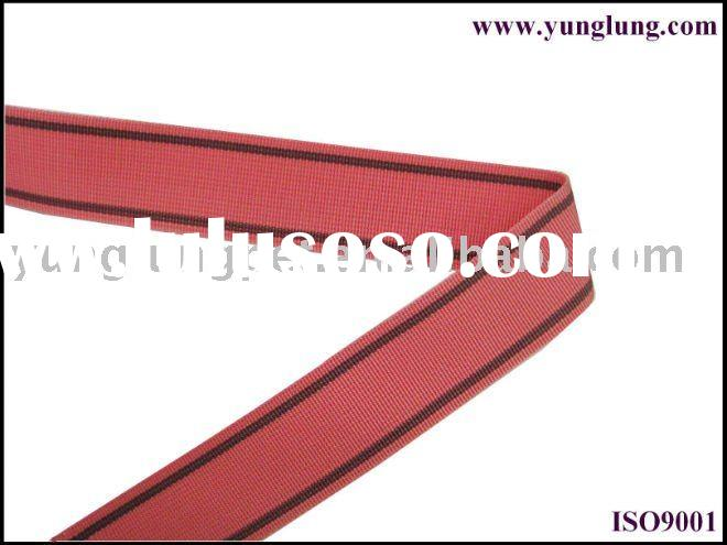 colorful nylon webbing belt