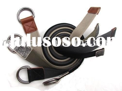 cowboy cotton webbing belt