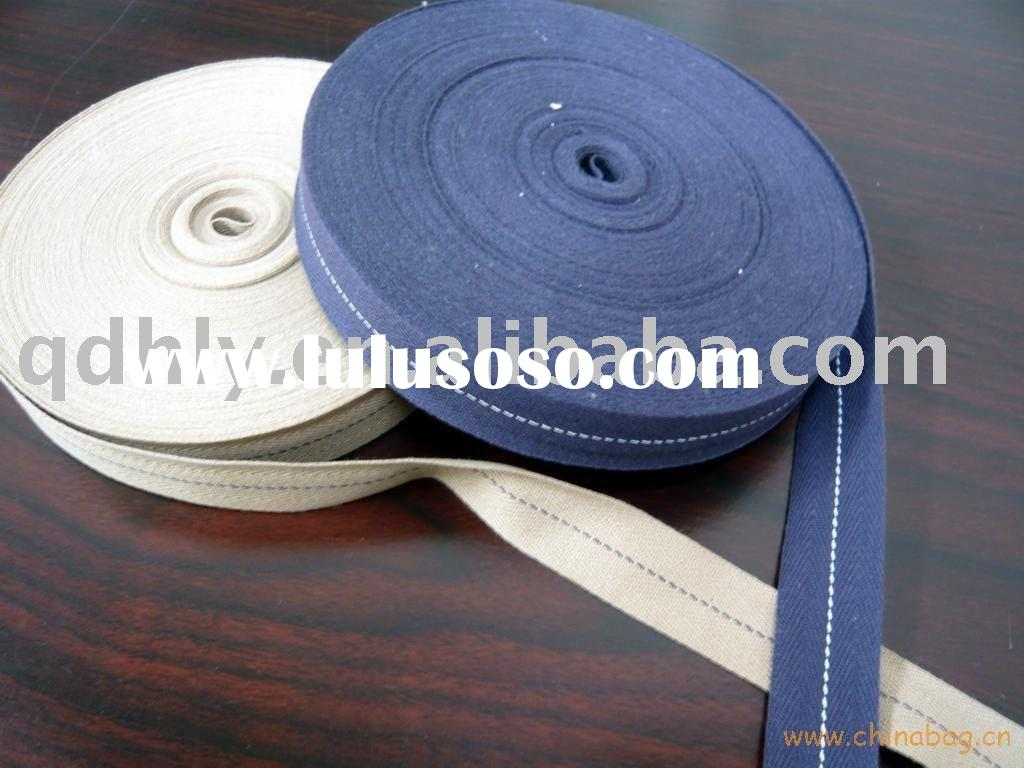 herringbone cotton webbing strap