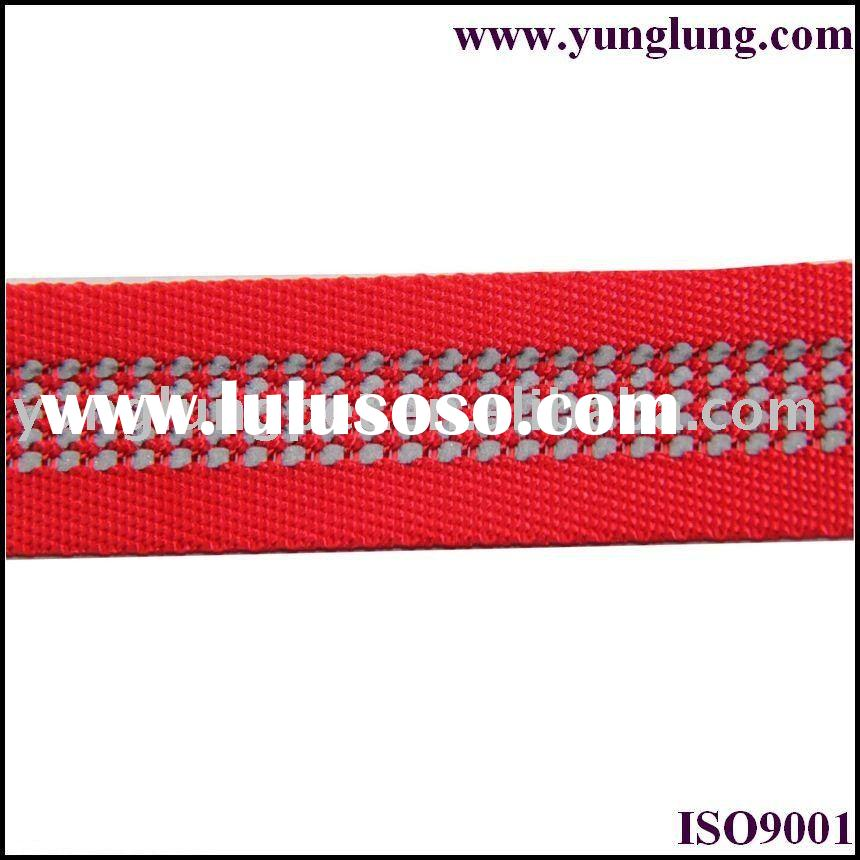 reflective nylon webbing sew on reflective tape