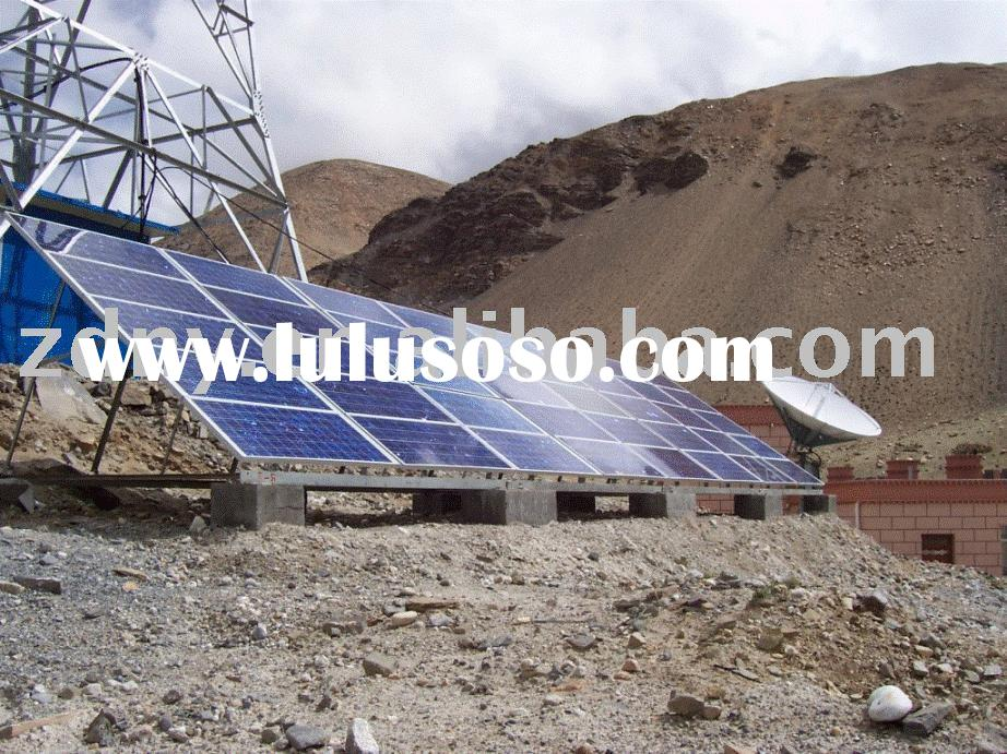 1000W Solar Power System for Mobile Communication Station