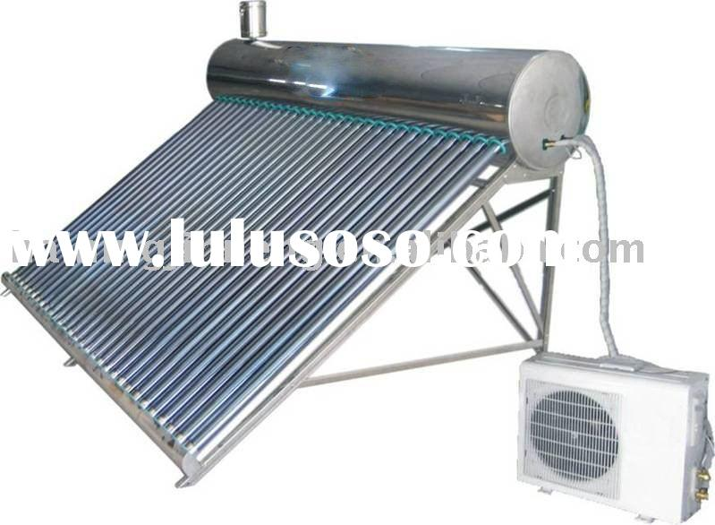 Air to water,air source heat pump solar water heater