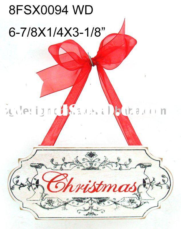 Christmas decoration wooden craft DIY