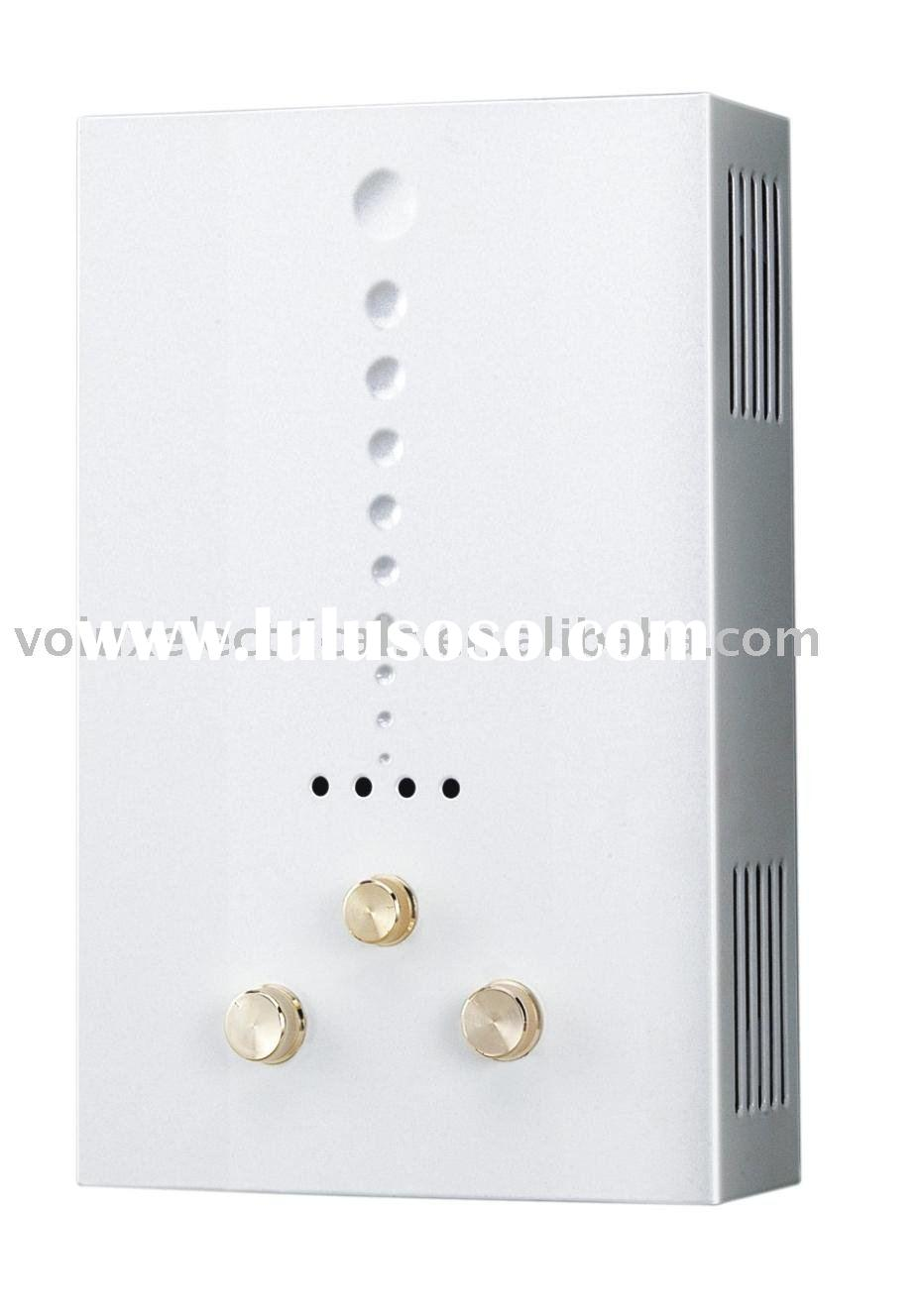 Natural gas tankless hot water heater