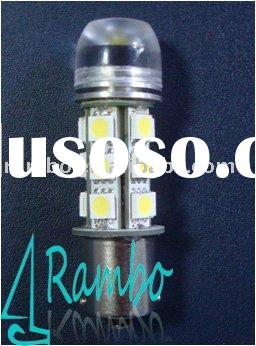 Super bright led automotive bulb,1W high power with lens,12V DC,24V DC,12V AC,24V AC