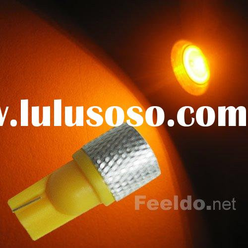 T10 1.5W 194 168 SMD high power LED light Bulbs Amber