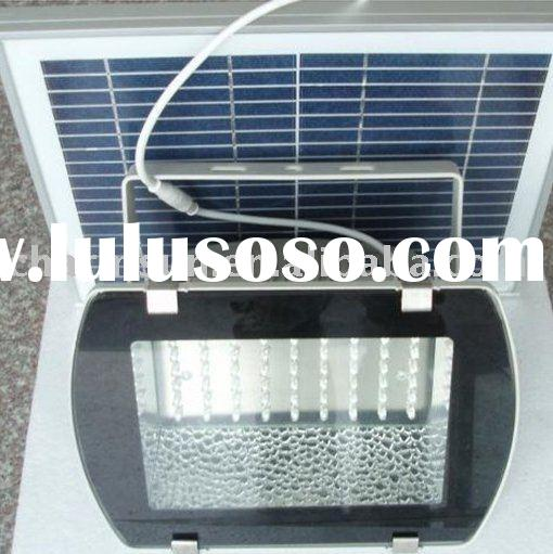 Waterproof Solar led flood light with solar panel