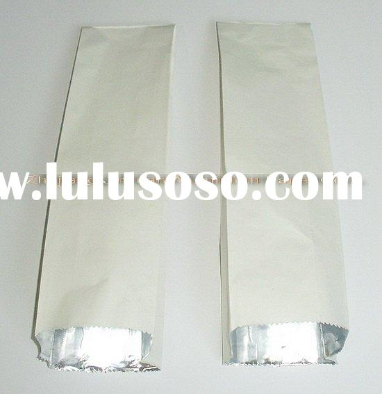 craft paper laminated aluminum foil bag for food packing