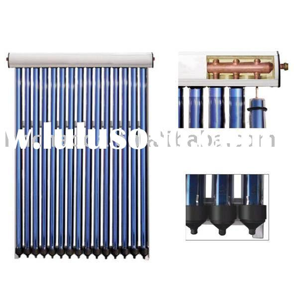 pressurized  solar water heater collector