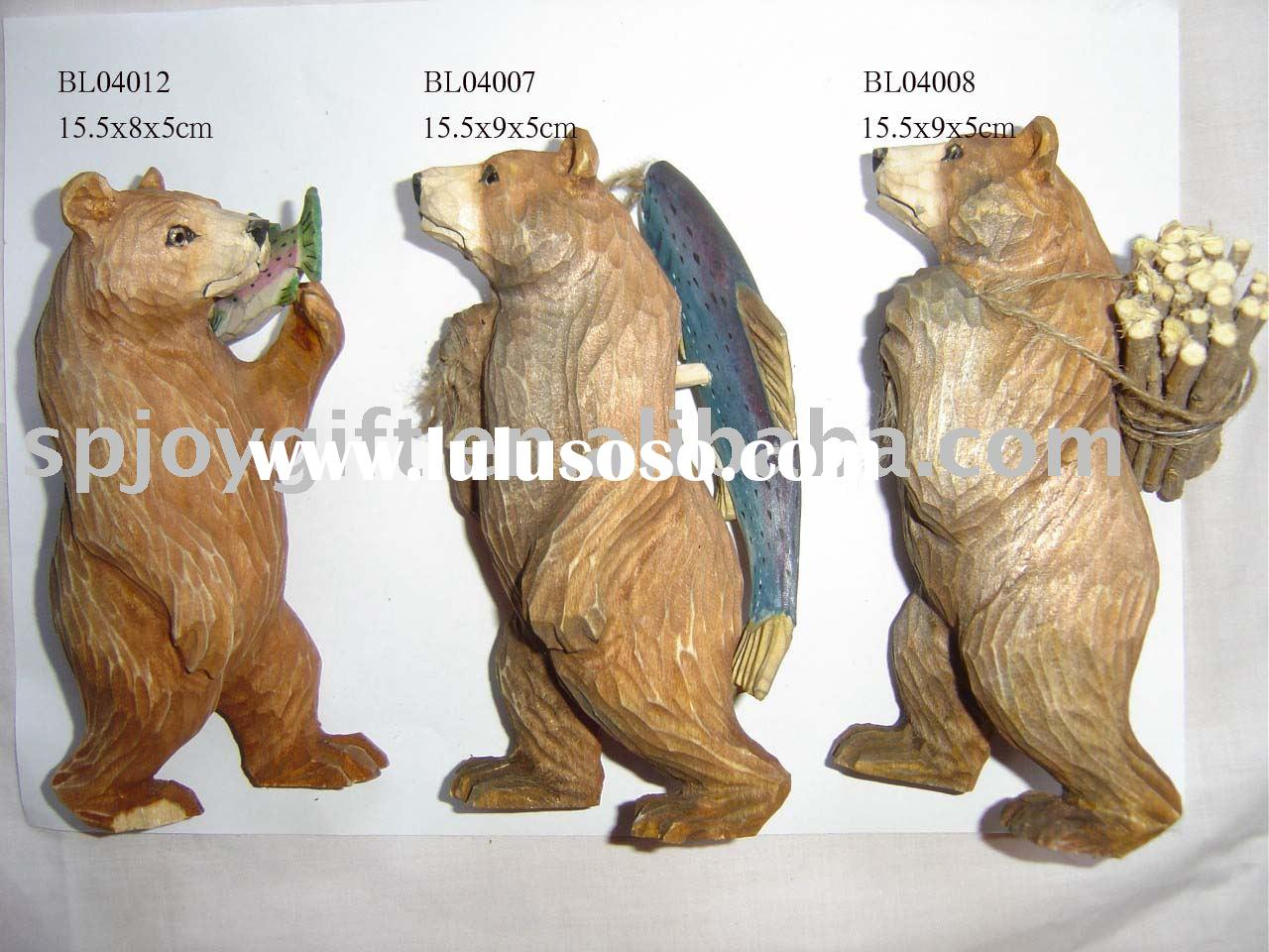 Wood Carving Bear Pattern