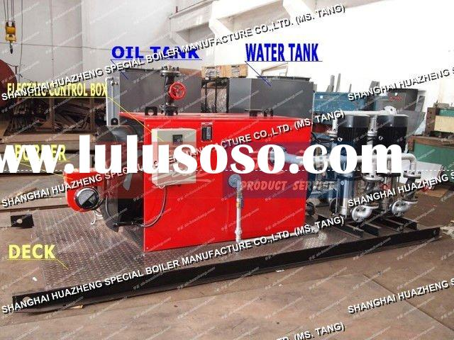 300KW Fire Tube Natural Gas Fired Industrial  Water Heater Boiler