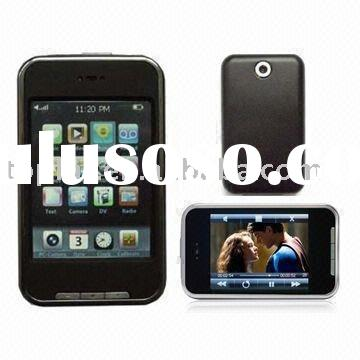 "4GB 2.8"" Touch Screen MP3 MP4 FM VIDEO PLAYER +Case+Pen"
