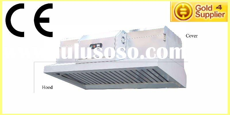 All-in-one gas Range Hood, Exhaust Vent,air cleaner& ESP (Electrostatic Precipitator)
