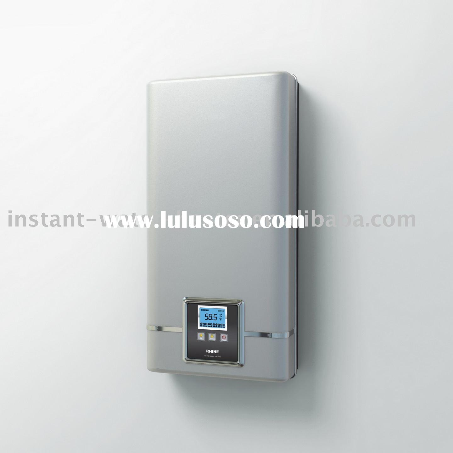 Electric tankless water heater electric tankless water for Heat bathroom