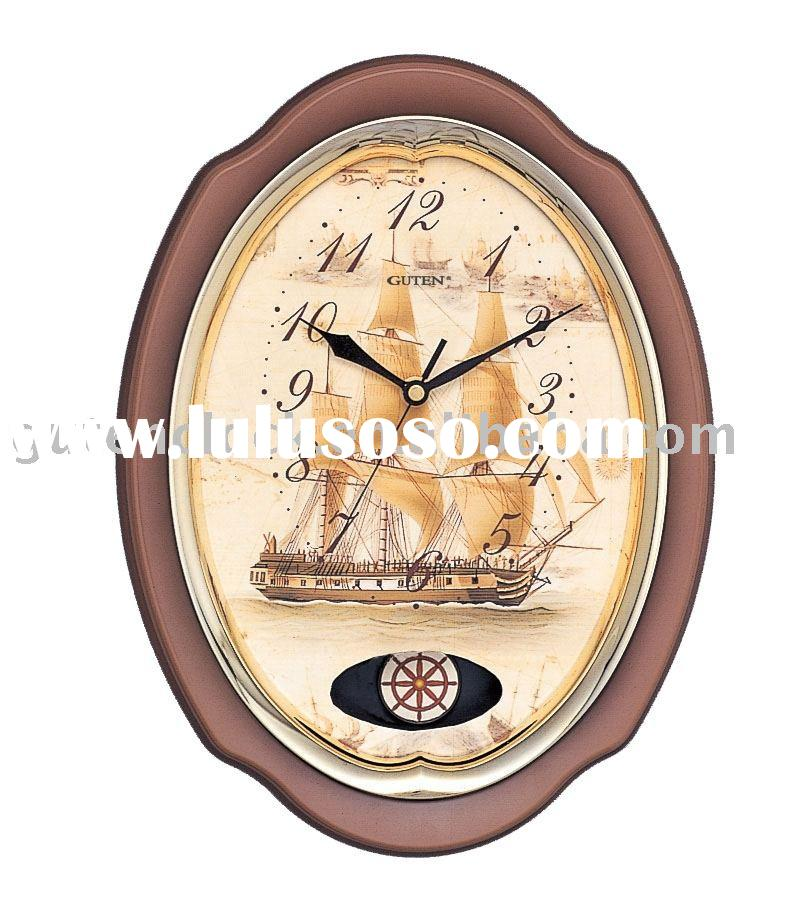 Classical Pendulum Wall Clock