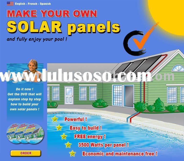 EPDM solar water heater for swimming pool,swimming pool solar water heater,EPDM mat,epdm strip