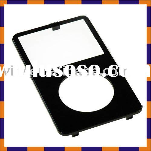 For iPod Video 30gb Black front shell housing