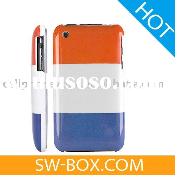 France Flag Hard Plastic Case Cover for Apple iPhone 3GS iPhone 3G