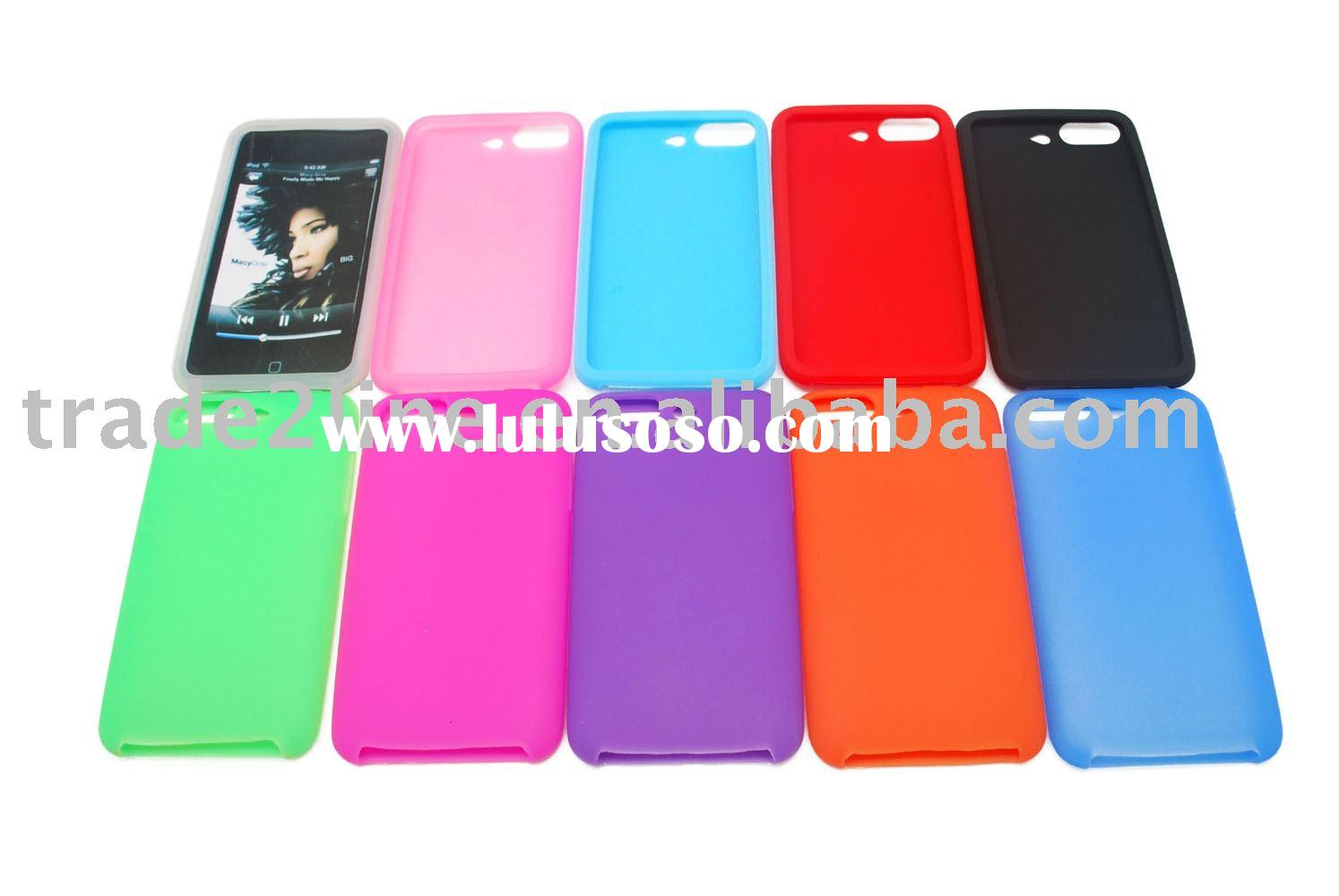 Silicon case for iPod touch 3rd Generation accessories for iPod