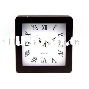 WOODEN  CLOCK  DESK  or TABLE CLOCK  RW401