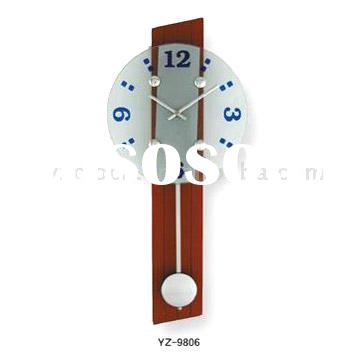 Wooden Pendulum Wall Clock