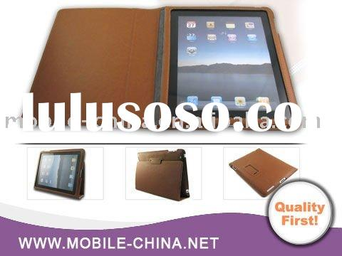 hot and classic Ultra Slim leather case for iPad 2