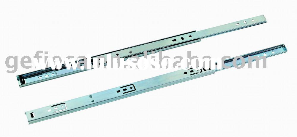 27mm 2 fold ball bearing drawer slide