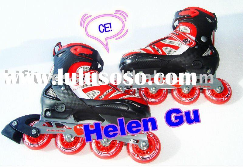 Adjustable inline skates,roller skate,roller blade,skate shoe(CE 2009 Approved)
