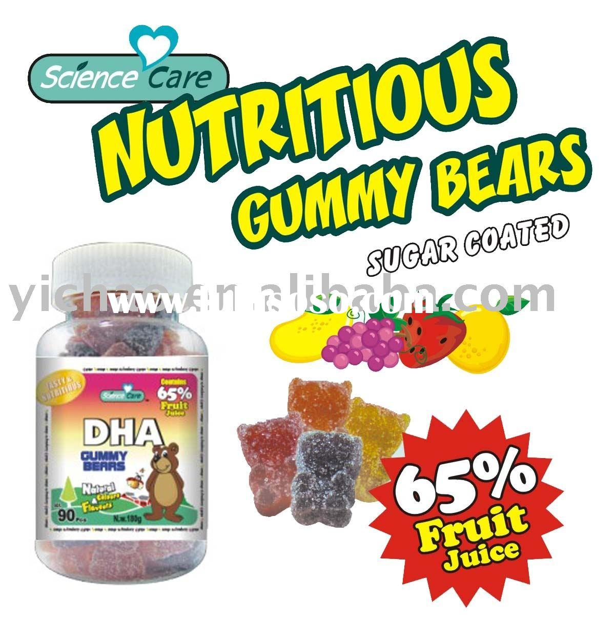 DHA Gummy Bear