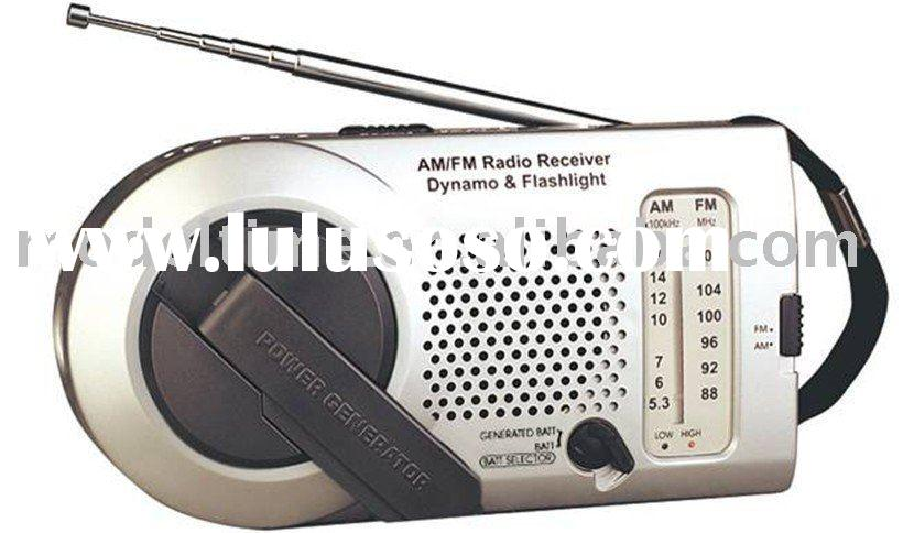 Dynamo Torch Radio,Wind Up Radio,Mini Dynamo Radio