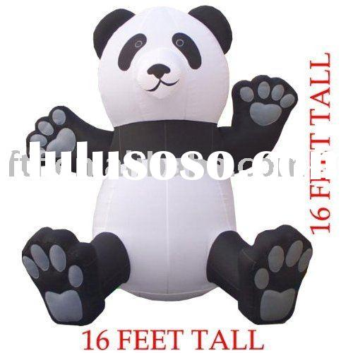 Inflatable Giant Panda Balloon/inflatable bear/baby bear/inflatable baby bear