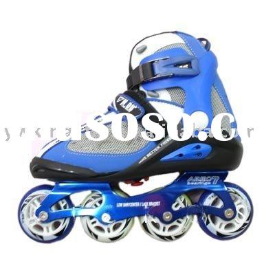 We offer Shoe Roller Skates Jonex Rollo which has genuine leather shoe with fibre frame specially designed for high speed. Moreover, Shoe Roller Skates