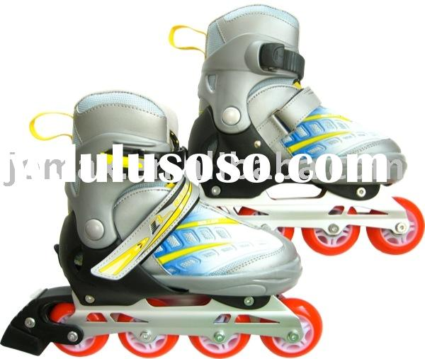Kid's Sizes Adjustable Inline Skating Speed Roller Blade Skates Shoes