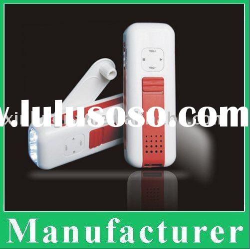 Manufacture wind-up radio & dynamo torch & mobile phone charger