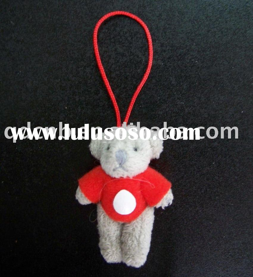 Mini Plush Bear with T-shirt Mini Plush Bear Toy Promotion Gift