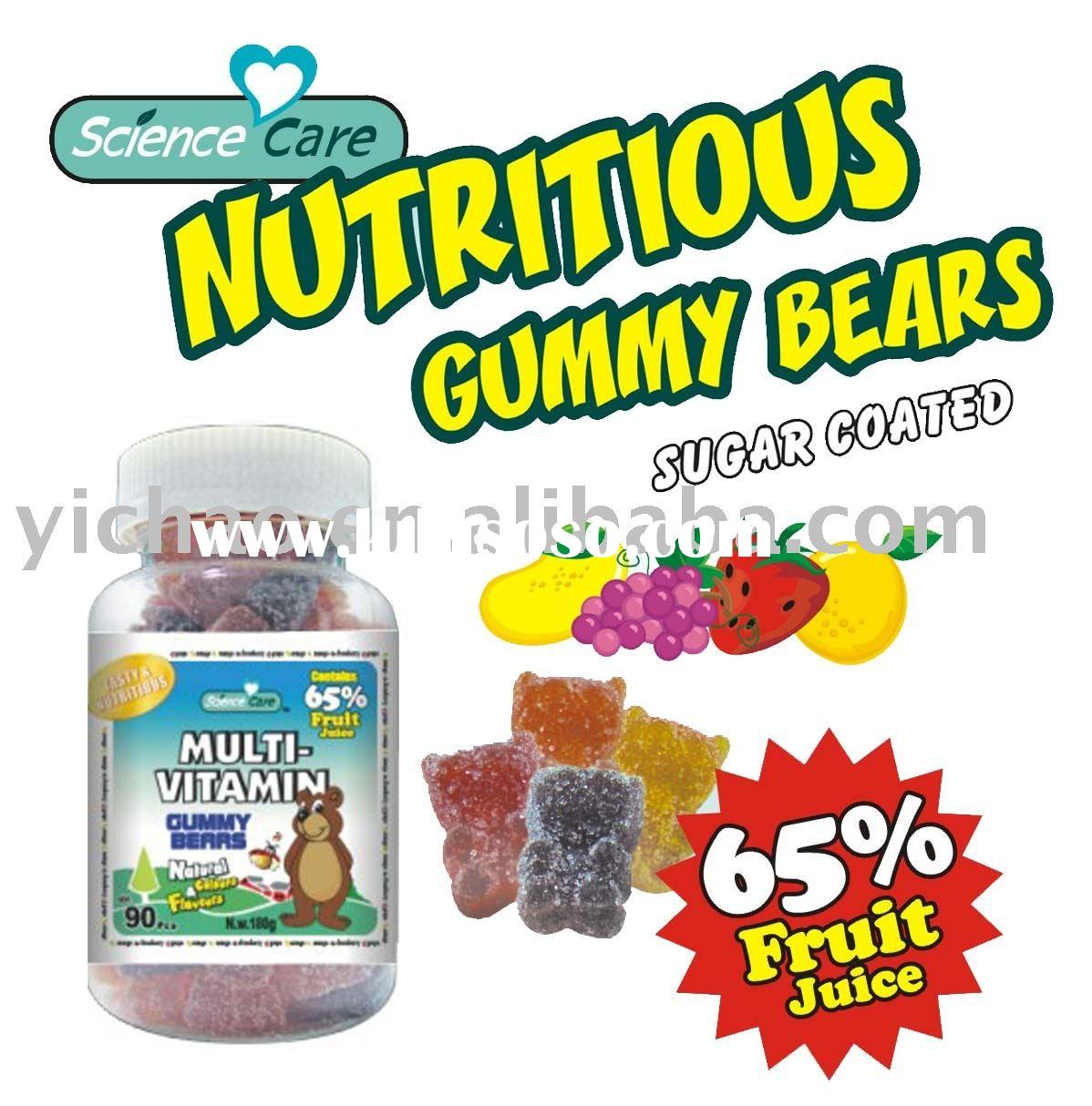 Multi-Vitamin Gummy Bear