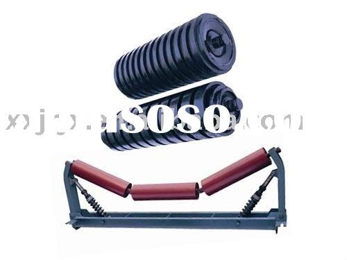 New conveyor rubber idler rollers