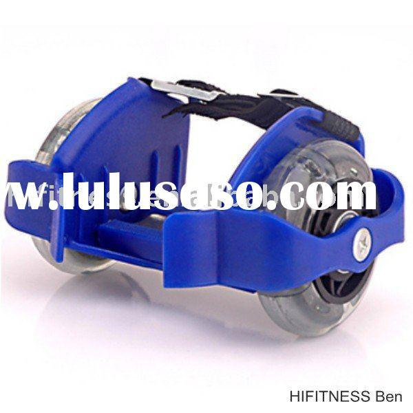 TOP Quality Two wheels PU Children Flying Shoes Boys and girls