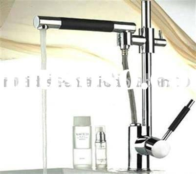 Single Lever Pull Out Spray Kitchen Faucet