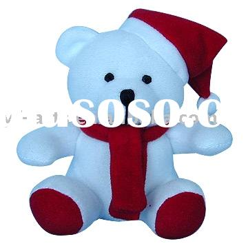 Stuffed Xmas Teddy Bear,plush toys,stuffed toys,plush bears