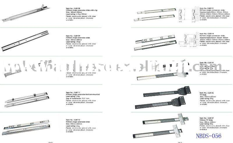 Drawer Slide Types Of Drawer Slides