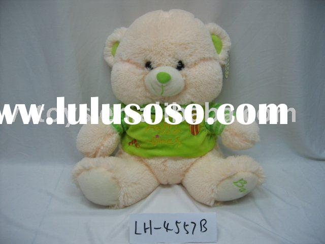 fashion clothing bear/plush teddy bear/stuffed bear toy