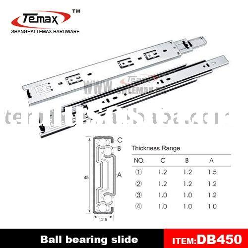 furniture ball bearing drawer slides