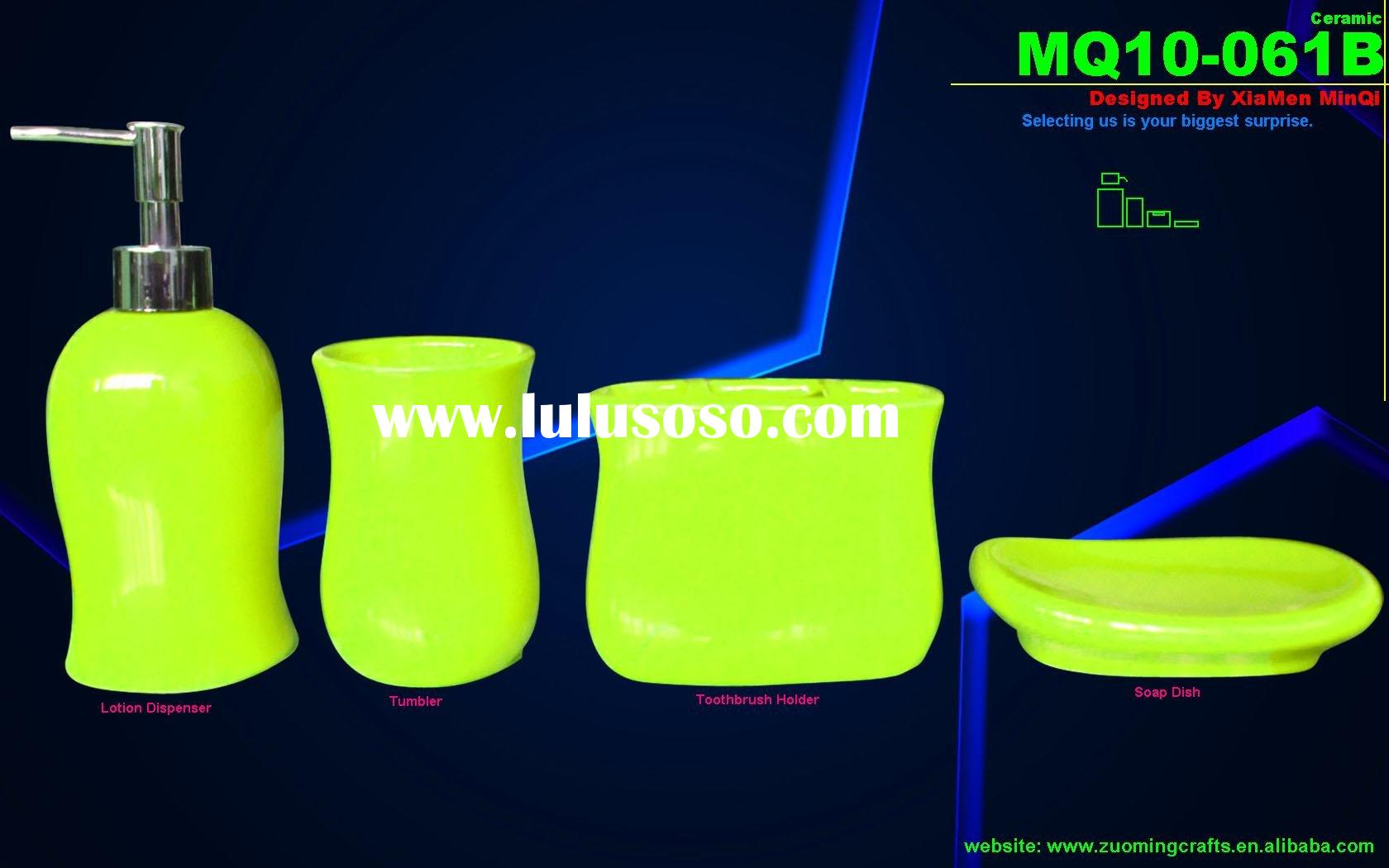 lime green bath accessories lime green bath accessories manufacturers in lul - Bathroom Accessories Lime Green