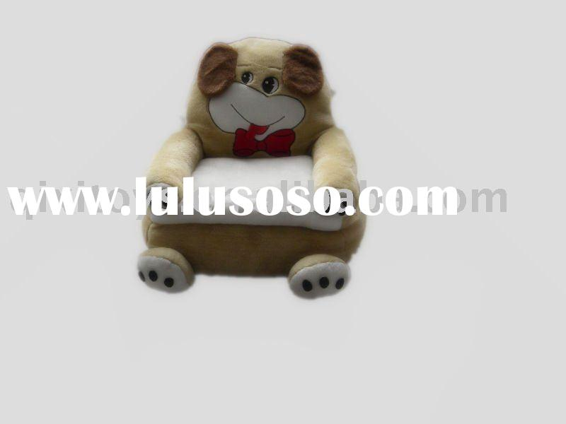 stuffed plush animal sofa, soft kid's bear chair toy, children furniture