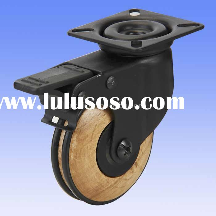 wooden caster wheels