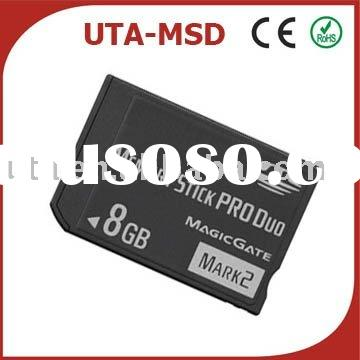 8GB Memory Stick Pro Duo Card