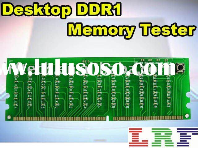 Desktop DDR1 memory tester.LED Display card, Test card for chips.