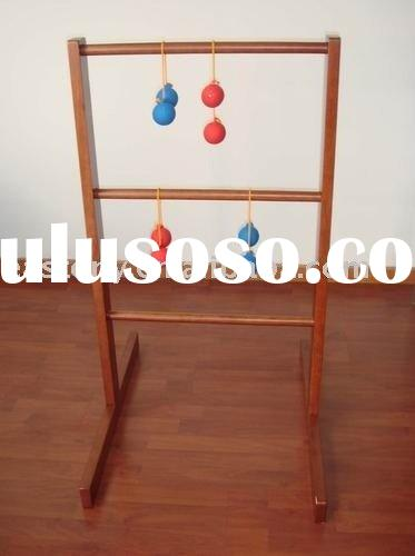 ET-751007 Deluxe Wooden Ladder Golf Games good for promotional Gifts Entertainment game using