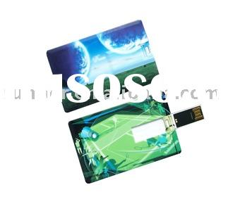 IC Card 1GB memory stick/Mini Usb-disk driver(paint pictures on it as you like)